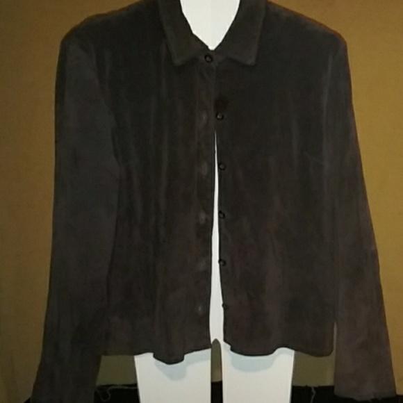 no name Jackets & Blazers - Suede jacket